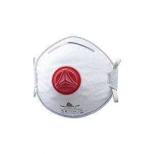 Meias-máscaras descartáveis moldadas ffp3 com válvula